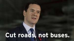 Cut roads not buses